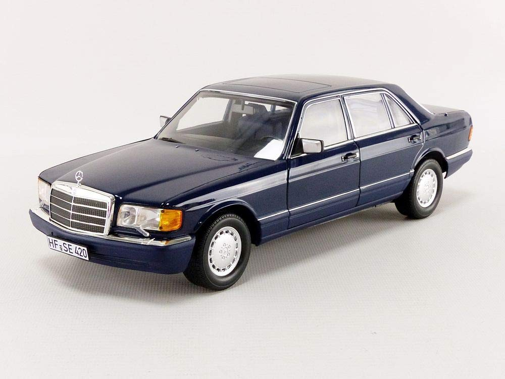 Mercedes 560 SEL W126 – dark blue