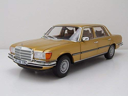 Mercedes Benz 450 SEL 6.9 – gold metallic