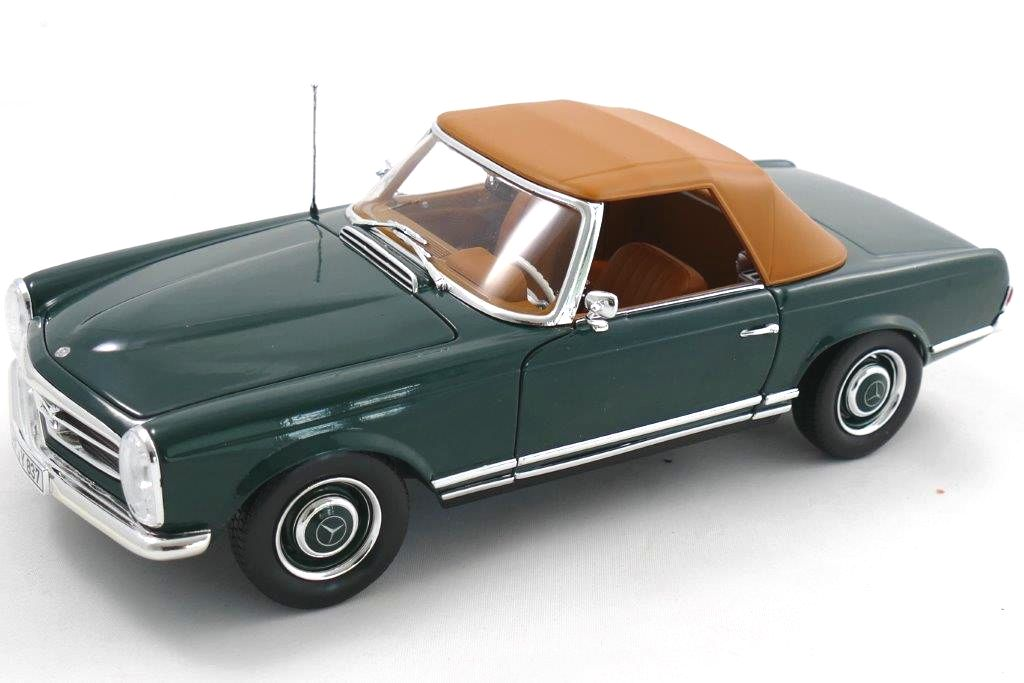 Mercedes 230 SL 1963 – irish green
