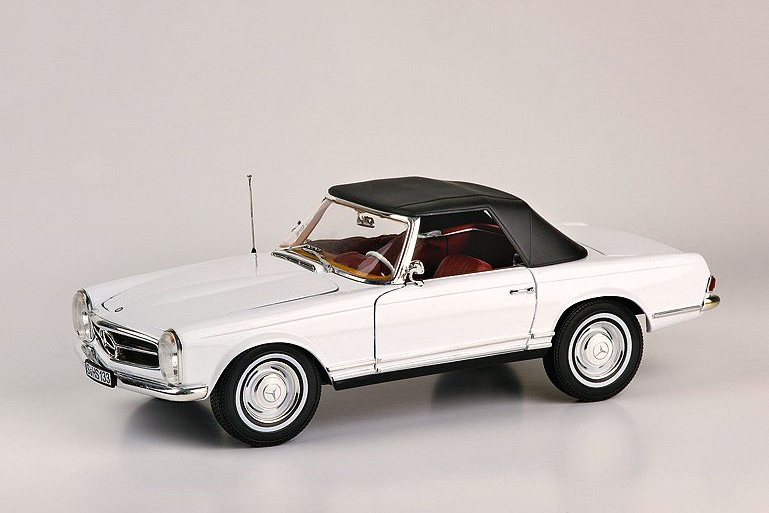 Mercedes 230 SL 1963 – white