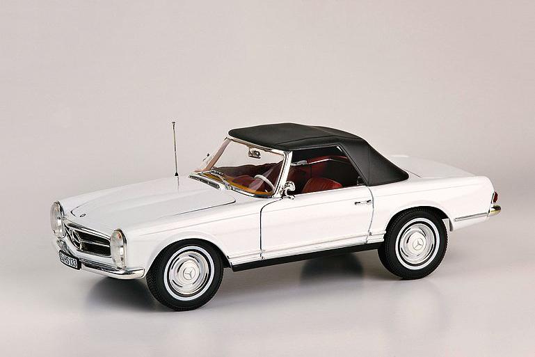 Mercedes 230 SL 1963 – white